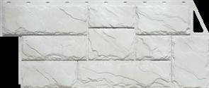 серия «Камень крупный» мелованный белый