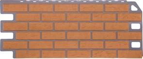 """Фасадные панели, серия """"Кирпич"""". Отделка дома под кирпич. Бежевый"""