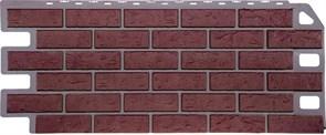 """Фасадные панели, серия """"Кирпич"""". Отделка дома под кирпич. Красный"""