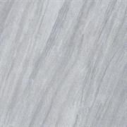 """Керамический гранит (600х600) """"Вулкан / Vulcano"""", серый средний, глазурованный"""